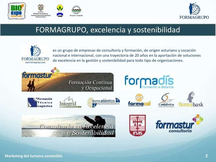 Marketing del turismo sostenible Slide 3