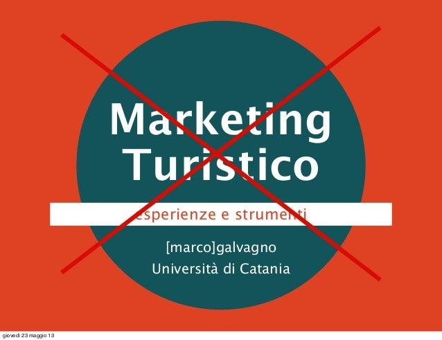 Marketing Turistico Slide 2