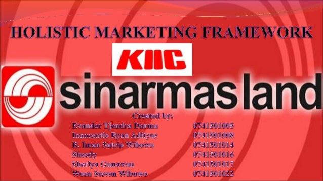 Holistic Marketing Framework