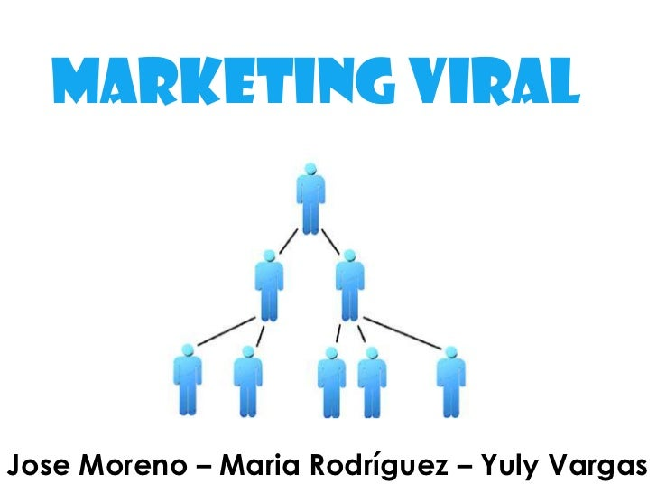 Marketing viral<br />Jose Moreno – Maria Rodríguez – Yuly Vargas<br />