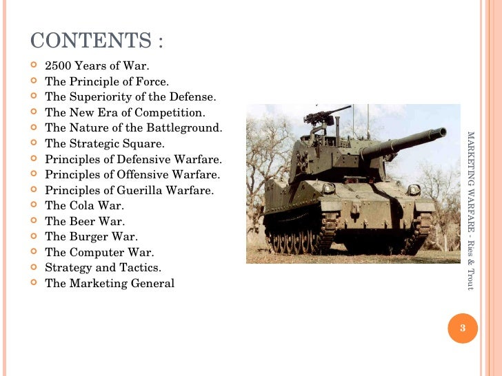 Marketing Warfare Slide 3