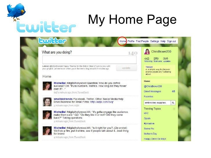 My Home Page