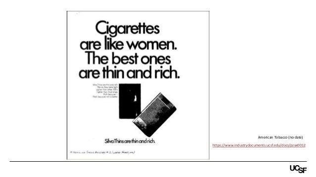 https://www.industrydocuments.ucsf.edu/docs/pzxx0012 American Tobacco (no date)