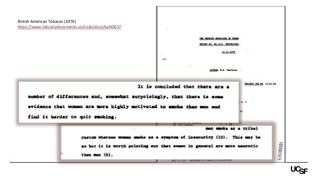 https://www.industrydocuments.ucsf.edu/docs/kpfk0037 British American Tobacco (1976)