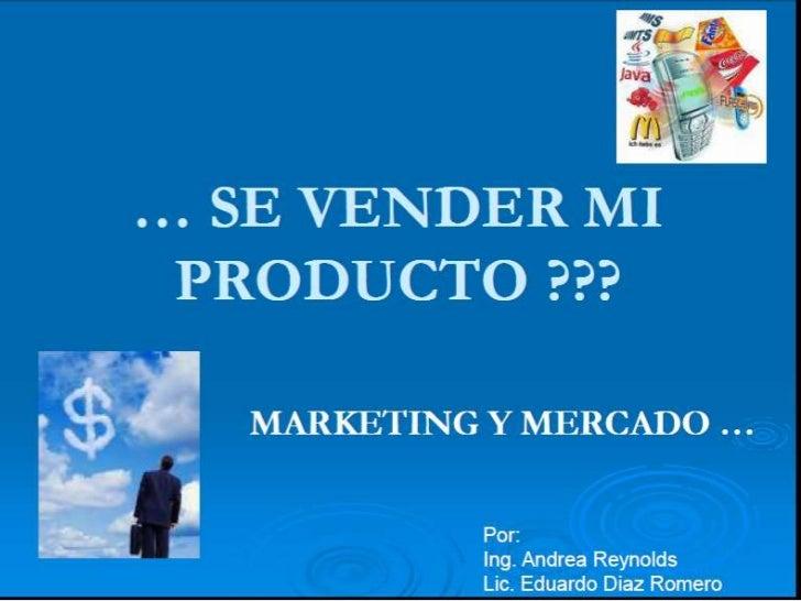 Marketing y mercadeo