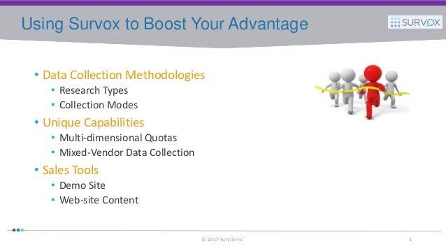 Marketing your data collection capabilities 2017 survox inc 3 4 publicscrutiny Images