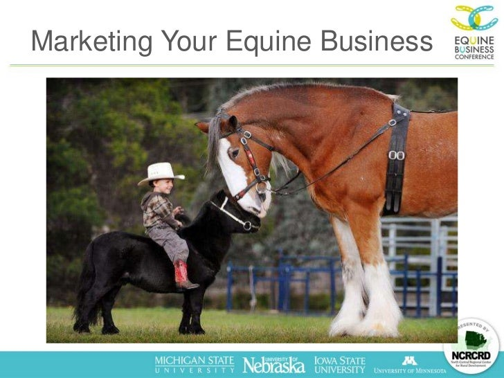 Marketing Your Equine Business