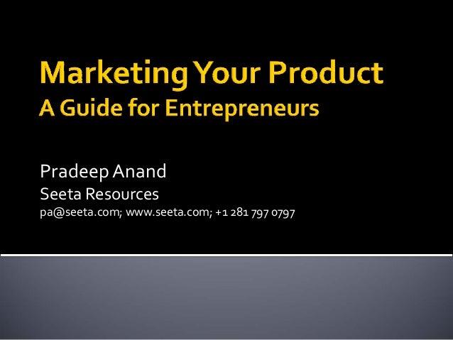 Pradeep AnandSeeta Resourcespa@seeta.com; www.seeta.com; +1 281 797 0797