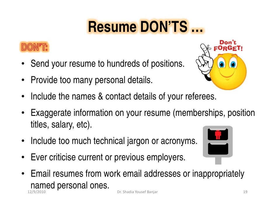 Listing Credentials After Your Name on Your Resume and on