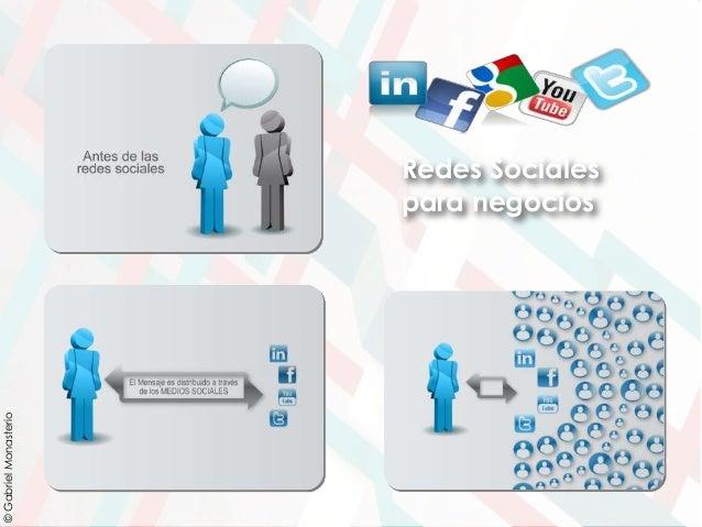Redes Sociales para negocios ©GabrielMonasterio