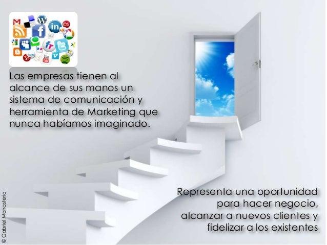 Representa una oportunidad para hacer negocio, alcanzar a nuevos clientes y fidelizar a los existentes Las empresas tienen...