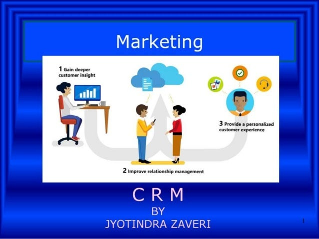 Marketing Customer Relationship Management CRM