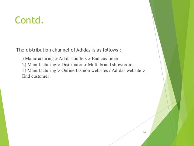 adidas marketing mix place Adidas- marketing mix - download as pdf file (pdf), text file (txt) or read  online  marketing each mix has its own importance place and promotion   place.