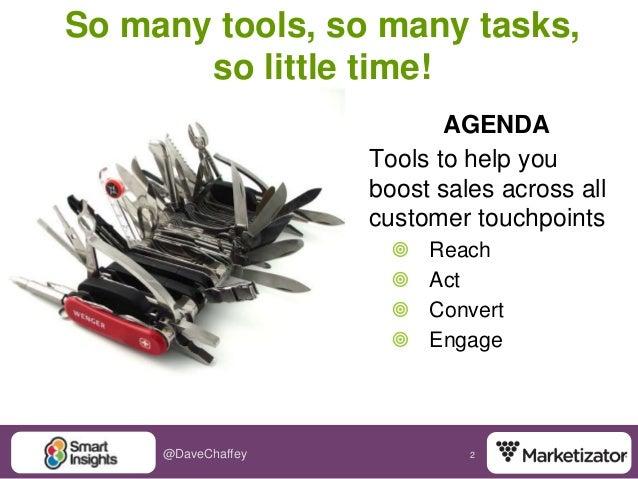 Essential Ecommerce Marketing Tools Slide 2