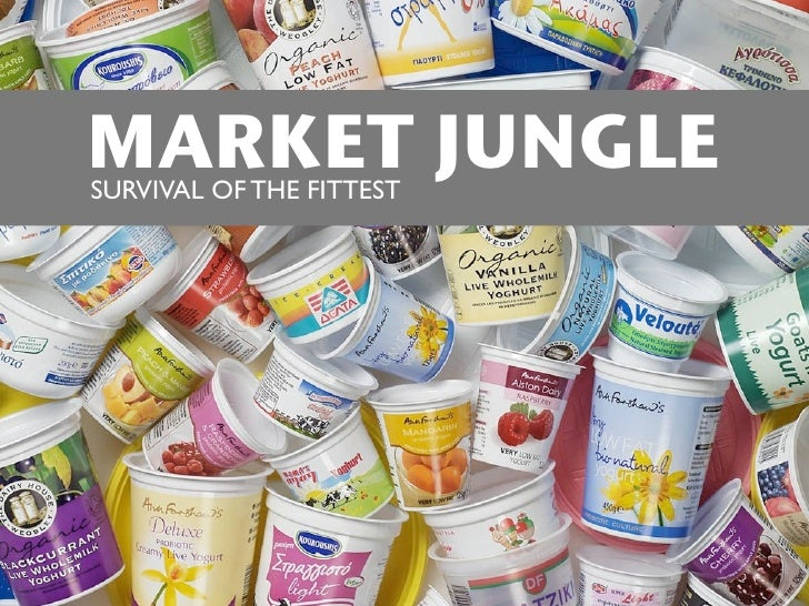 MARKET JUNGLE SURVIVAL OF THE FITTEST