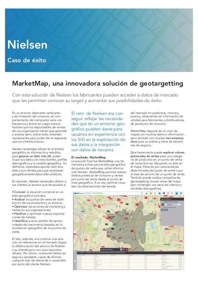 MarketMap, una innovadora solución de geotargetting Con esta solución de Nielsen los fabricantes pueden acceder a datos de...