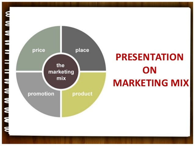 PRESENTATION     ONMARKETING MIX