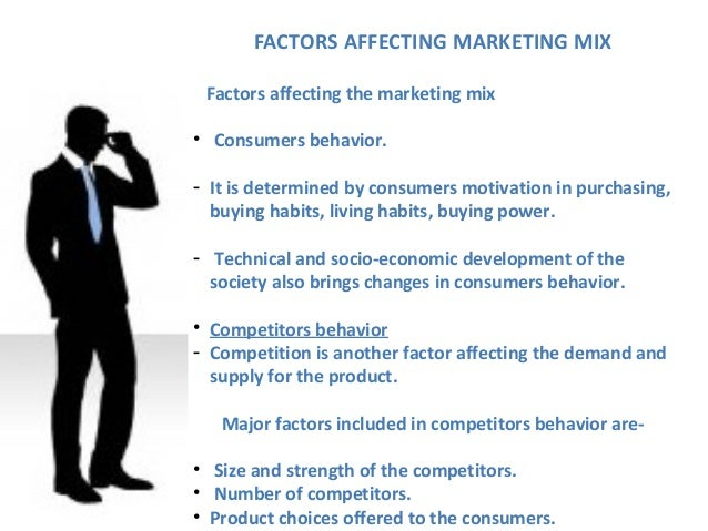 What Can Affect Marketing?