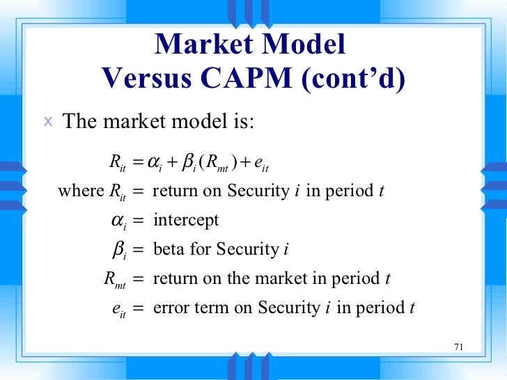 research paper on capm Research paper the product of this paper is dress storage bags theses are the questions that are needed to be answered below about this product customer analysis.