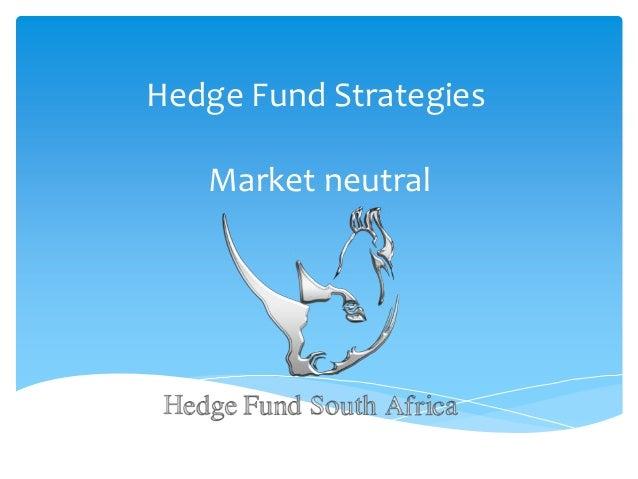Hedge Fund Strategies Market neutral