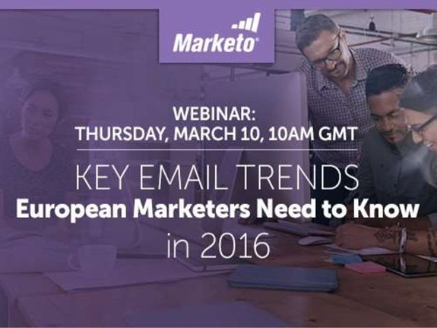 Key Email Trends European Marketers Need to Know in 2016