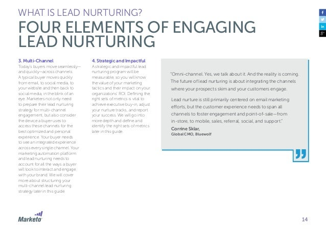 15 Brian Carroll, Executive Director, Revenue Optimization MECLABS Marketers often treat lead nurturing like just another ...