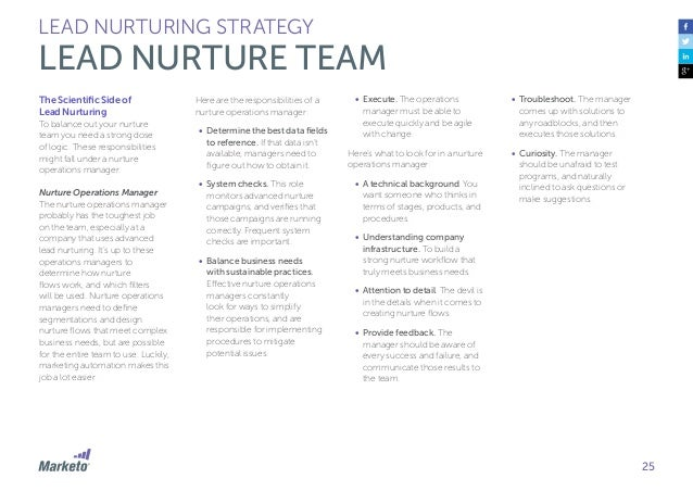 26 LEAD NURTURING STRATEGY TECHNOLOGY SELECTION Beyond the time-saving and efficiency benefits of automation, marketing au...