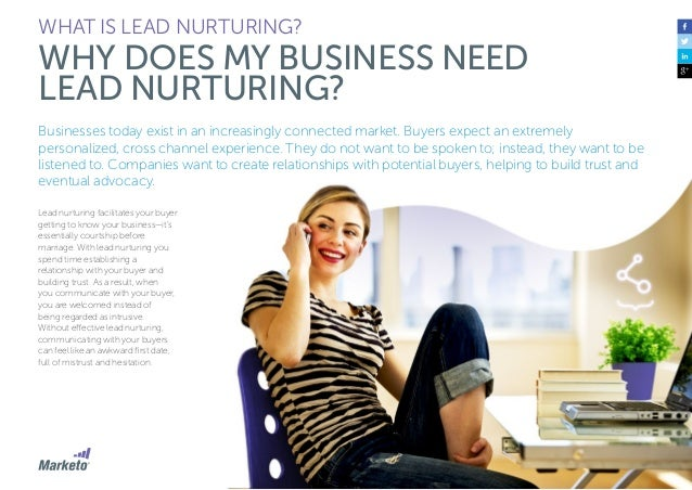 9 WHAT IS LEAD NURTURING? WHY DOES MY BUSINESS NEED LEAD NURTURING? Here are a few stats to support why an organization sh...