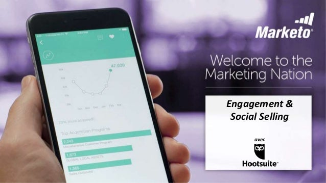 Marketo and Hootsuite - Engagement Marketing and Social Selling