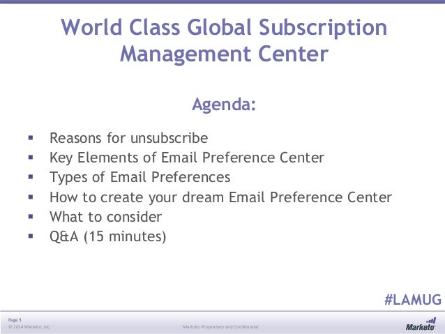 Marketo Los Angeles User Group Meeting - October 2014 Slide 3