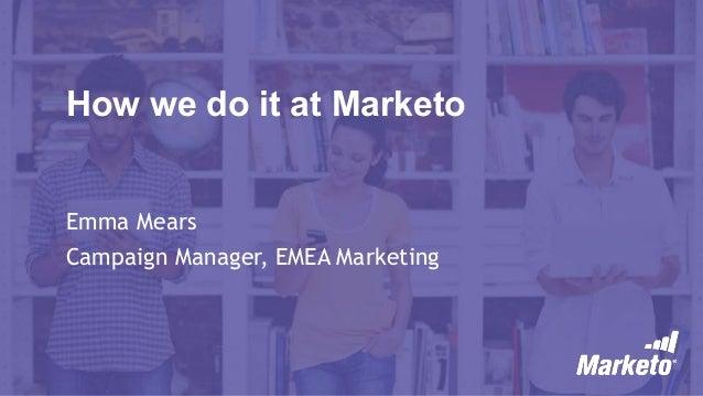 Marketo@marketo webinar slides