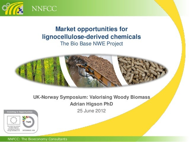 NNFCCNNFCC: The Bioeconomy ConsultantsMarket opportunities forlignocellulose-derived chemicalsThe Bio Base NWE ProjectUK-N...