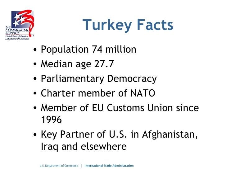 Market opportunities in Turkey for U.S. Businesses