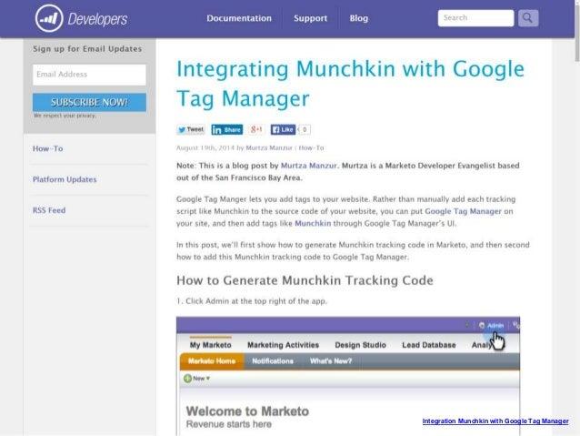 Marketo: hands on with Google Analytics