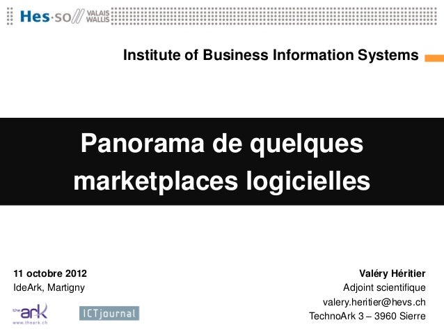 Institute of Business                   Institute of Business         Information Systems                                 ...