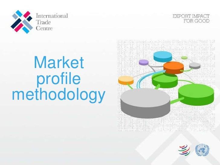 Market profile methodology<br />