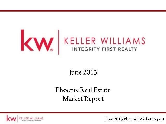 June Phoenix Real Estate Market Report