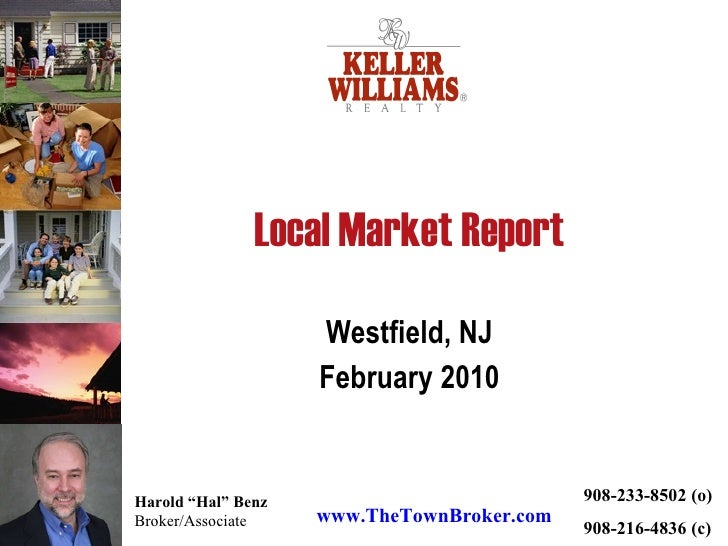Local Market Report Westfield, NJ February 2010