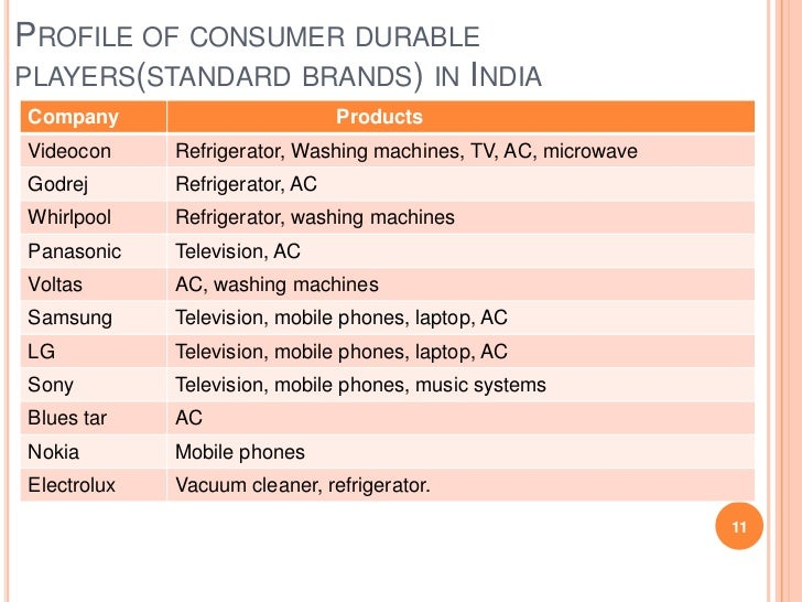consumer durable study in rural Indian consumer durables industry analysis consumer durable market expected to there is a lot of scope for growth from rural markets with consumption.