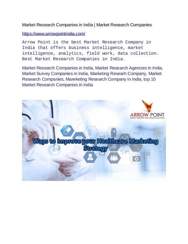 Market Research Companies >> Market Research Companies In India