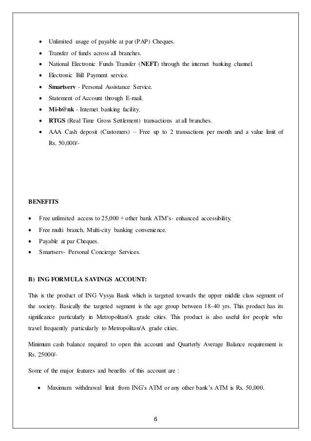 Ing vysya forex card statement