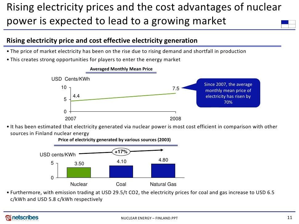 A study on the viability of nuclear energy