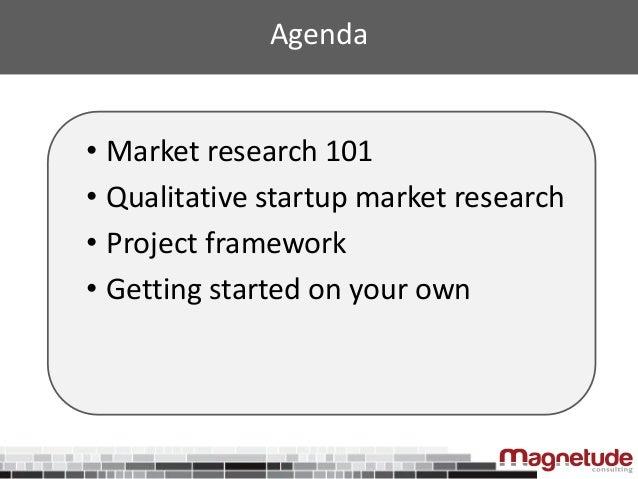 Market Research for Startups Slide 3