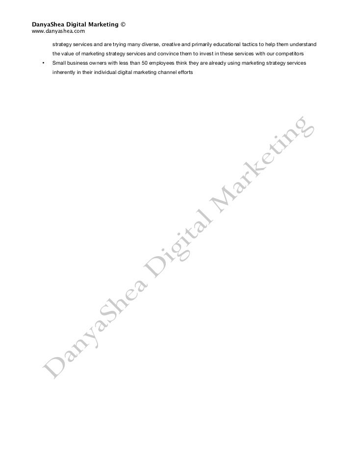 Market Research Implementation Plan: SAMPLE