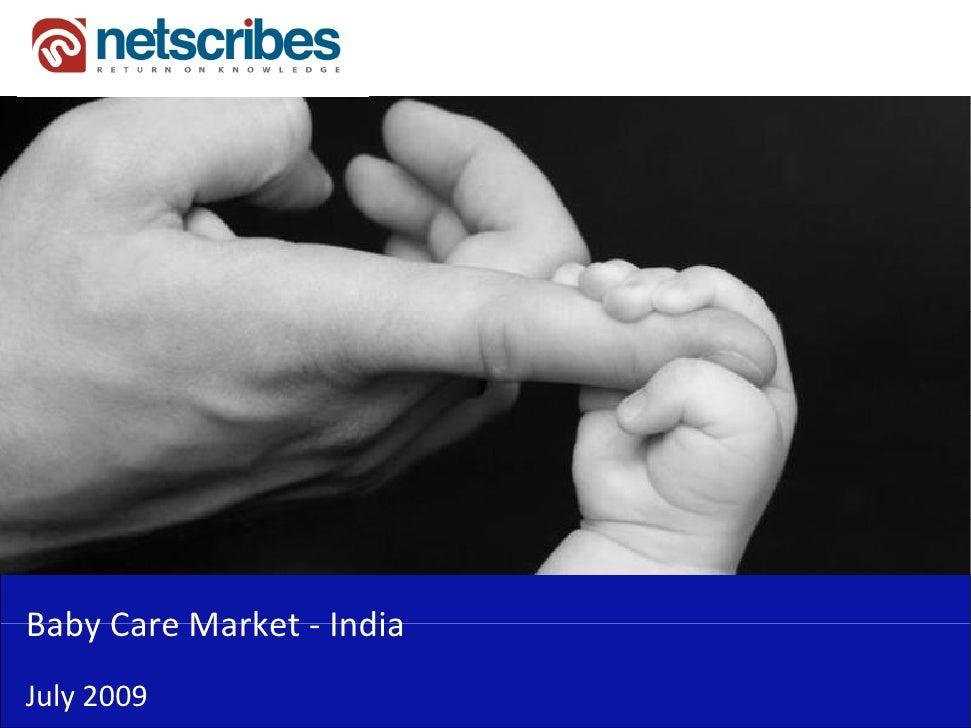 BabyCareMarket‐Baby Care Market IndiaJuly2009