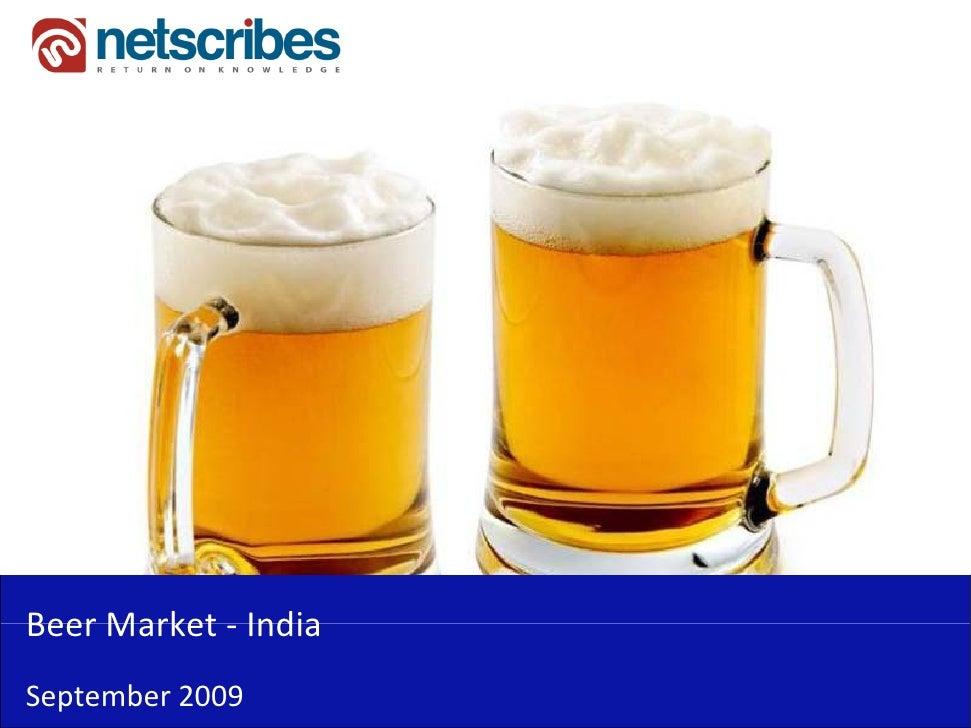 BeerMarket‐Beer Market IndiaSeptember2009