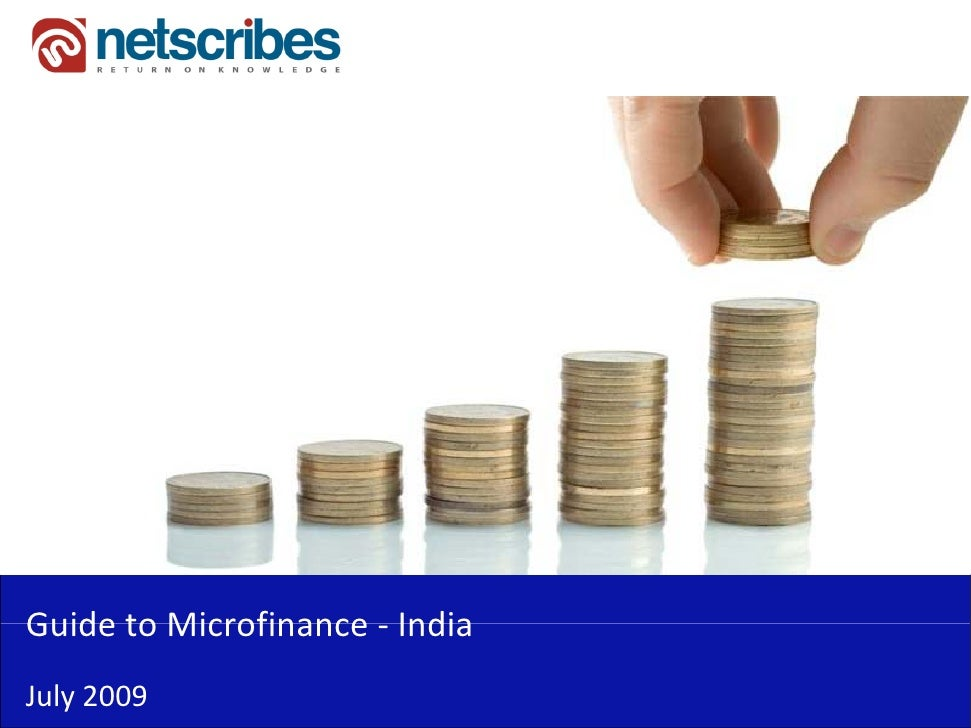 research paper on microfinance in india