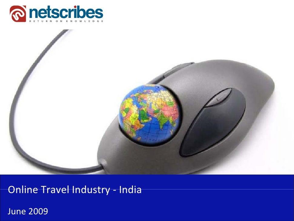 OnlineTravelIndustry‐Online Travel Industry IndiaJune2009