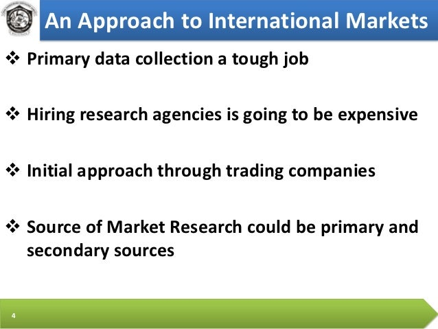 going international trade research market analysis and marketing pdf