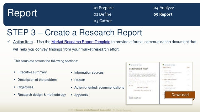 Market Research Methodology